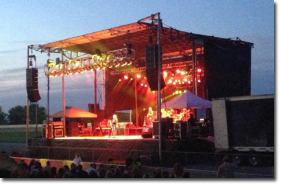 Nasp Mobile Portable Stage Rental West Virginia